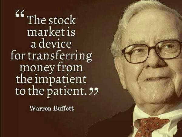warren buffet on stock market