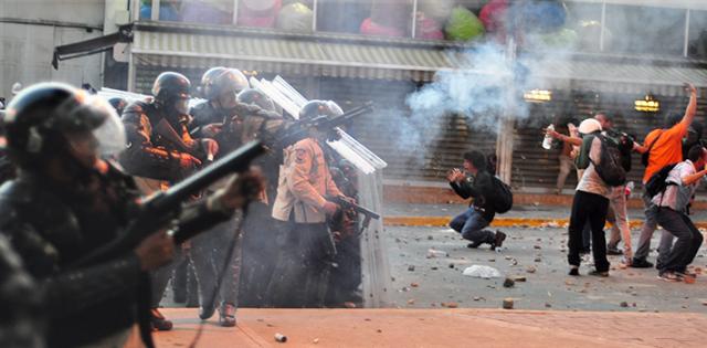 venezuela kaaos ja mellakat